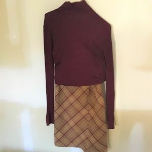 J. CREW WOOL SKIRT SET -SIZE 4/SMALL